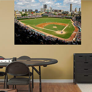 Inside Wrigley Field Mural Fathead Wall Decal